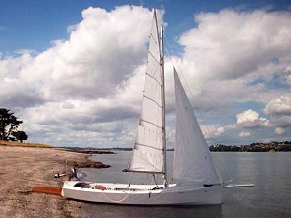 Build yourself a Welsford AWOL sailing boat from Fyne Boat Kits