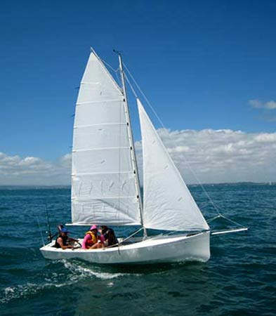 Welsford Awol built from plans supplied by Fyne Boat Kits