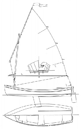 Wooden sailing boat plans and construction manual - Golden Bay by Welsford from Fyne Boat Kits