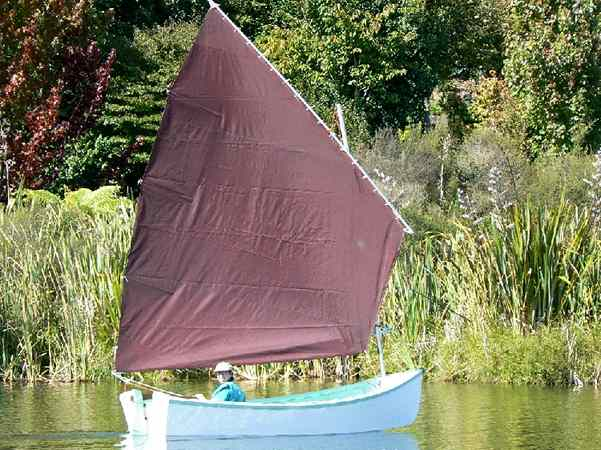 Wooden sailing boat plans - Golden Bay by Welsford from Fyne Boat Kits