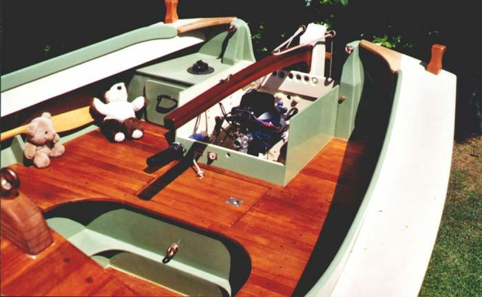 Houdini engine from Fyne Boat Kits plans
