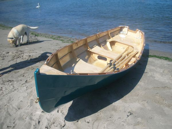 Fyne Boat Kits supply plans for Welsford Joansa wooden rowing boat