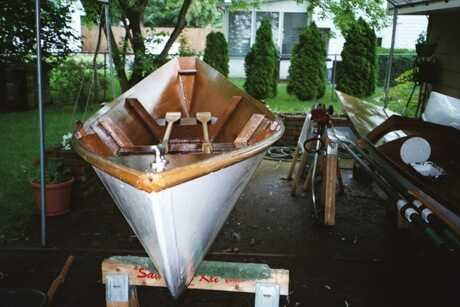 Plans to build a Light Dory from Fyne Boats
