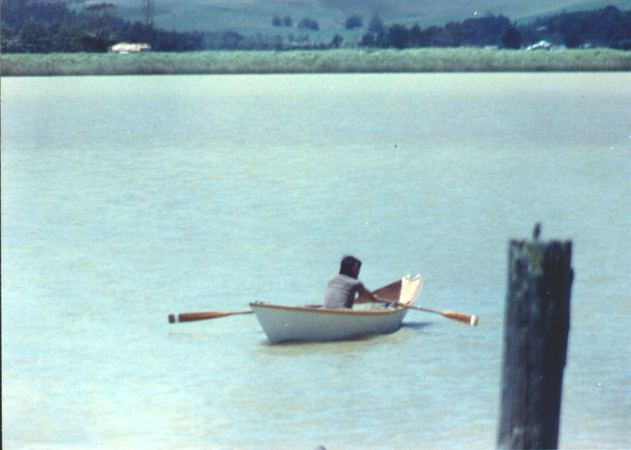 Build a long distance Light Dory rowing boat from plans