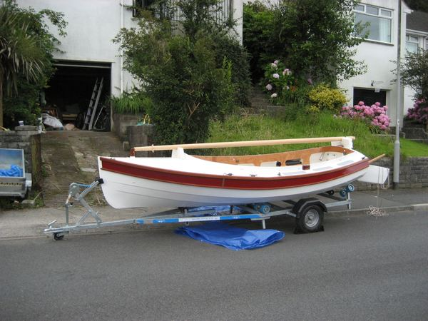 The Navigator can be built from the plans or from a Fyne Boat Kit