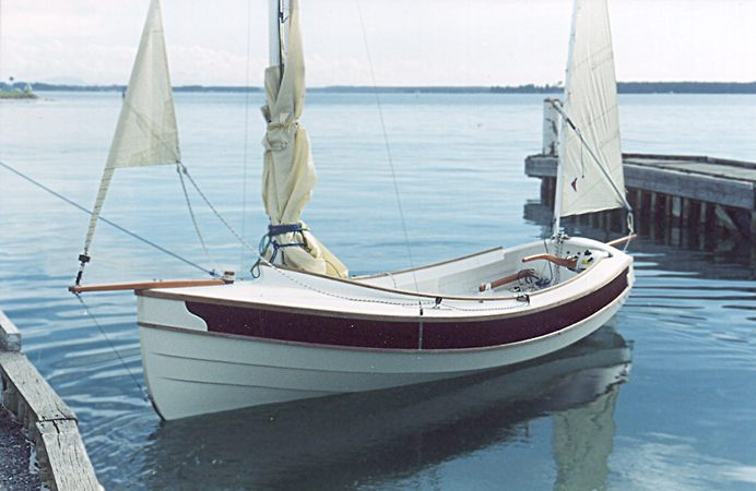 Fast and comfortable cruising dinghy - Welsford Pathfinder
