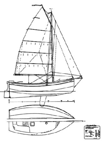 Plans for a Welsford Pilgrim sailing boat from Fyne Boat Kits