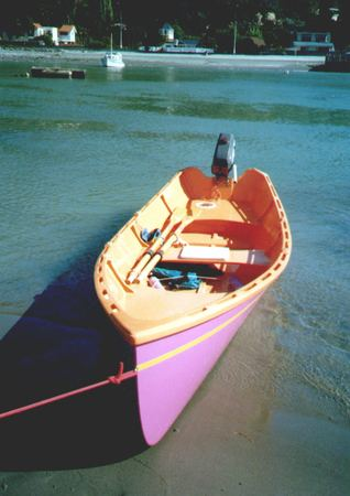 Fyne rowing boat Seagull plans