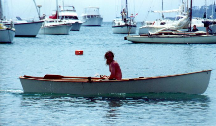 Plans for a seagull rowing boat
