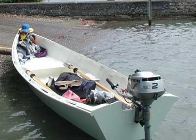 Fyne Boat Kits Seagull rowing boat plans