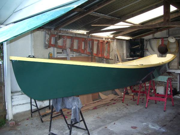 Plans for John Welsford rowing boat Seagull from Fyne Boat Kits