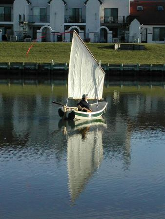 Self build wooden rowing boat kit and plans Welsford Sherpa from Fyne Boat Kits