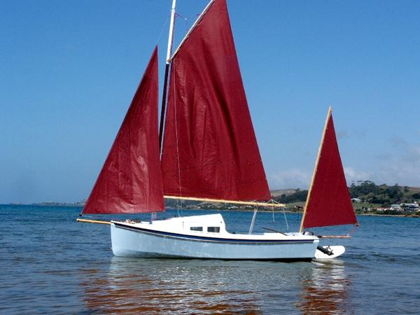 Budget cabin sailing cruiser - Welsford's Sweet Pea