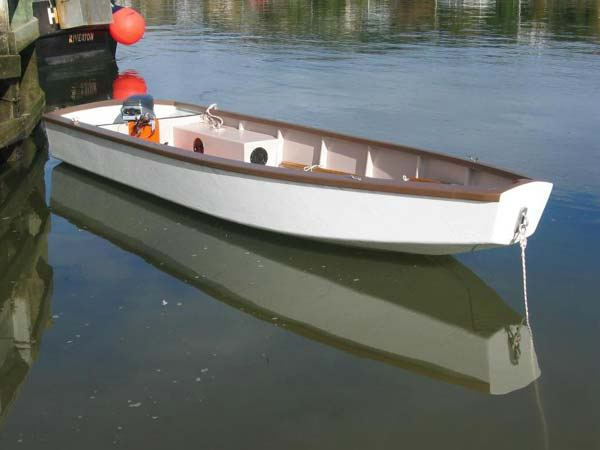 Build a motor boat from plans supplied by Fyne Boat Kits Welsford Trover
