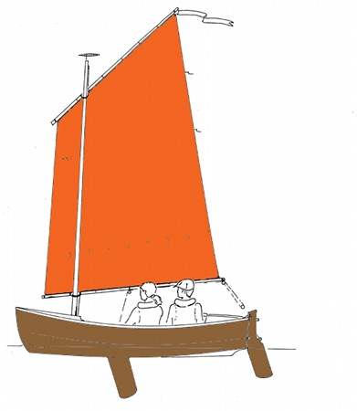 DIY boat from plans from Fyne Boat Kits