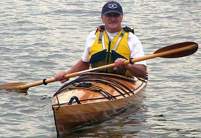 Plans for a West River multi chines wooden kayak