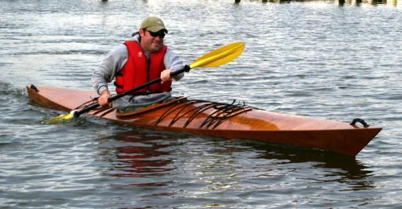 Multi chined wooden kayak plans