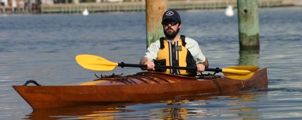 West River multi chined wooden kayak plans