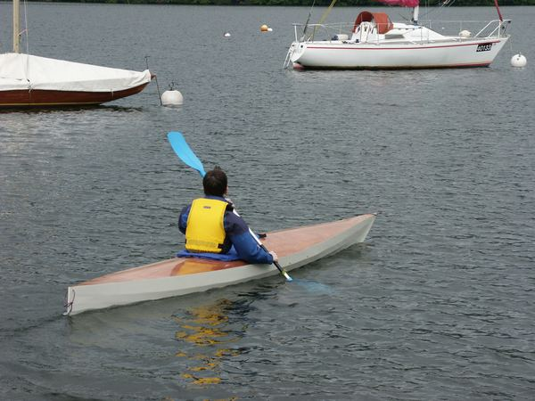 Wooden kayak plans multi chined diy from Fyne Boat Kits