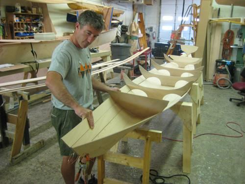 Building a tandem wherry kit