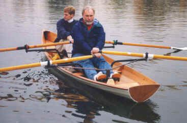 The CLC wherry can take two piantedosi row wings