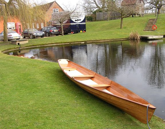2008 Fyne Boat Kits Wherry built from a kit