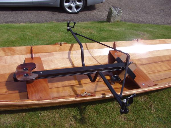 Piantedosi rowing unit in a Wherry