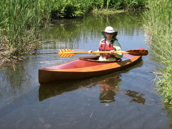 Wood Duck 10 wooden kayak