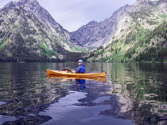 The Wood Duck 10 compact recreational kayak
