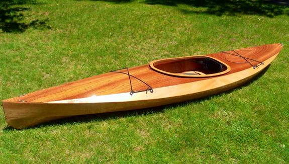The Wood Duck 12 recreational wooden kayak