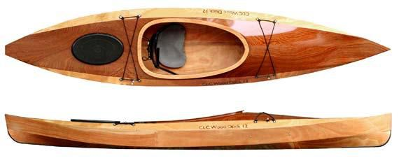 Plan of a wood duck 12 recreational kayak