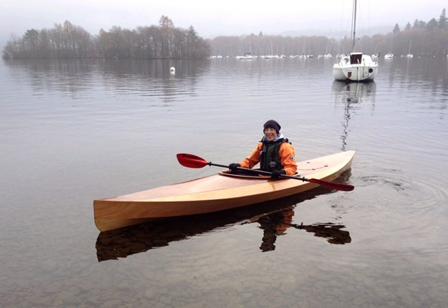 Wood Duck wooden kit kayak