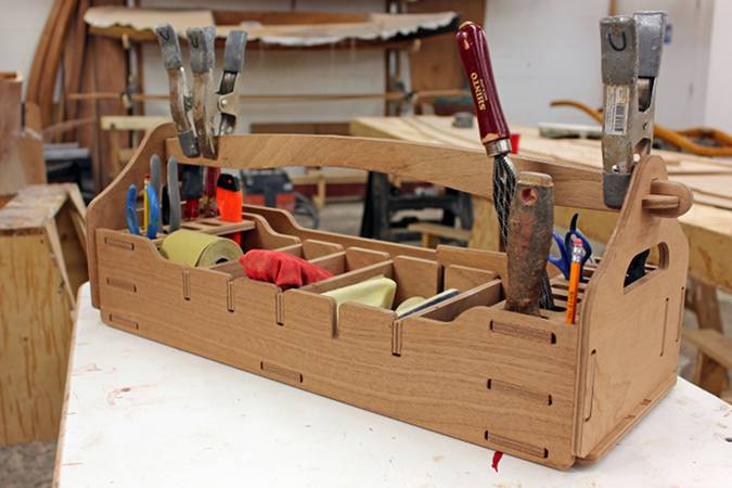 Wooden Tool Box Kit Fyne Boat Kits