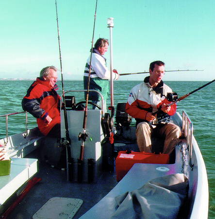 The Workstar 17 makes a great fishing boat due to its stability and large capacity
